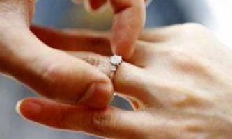 Як змусити чоловіка одружитися?