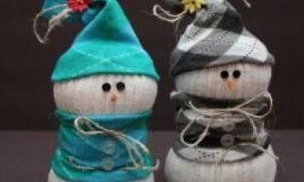 Які вироби зробити на новий рік: ялинки, сніговики, новорічні кулі