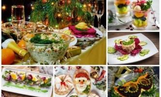 Які салати можна приготувати на новий рік?