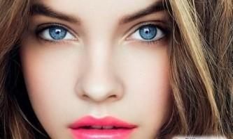 Який колір волосся підходить до блакитних очей?