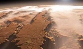 Який він, марсіанський сніг?