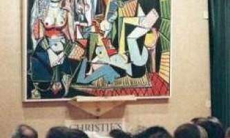 Картина пікассо стала найдорожчим в світі твором мистецтва