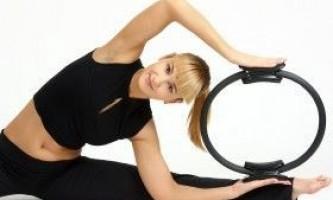 Кільце для пілатесу: вправи