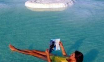 Купання в мертвому морі допомагає знизити рівень цукру в крові