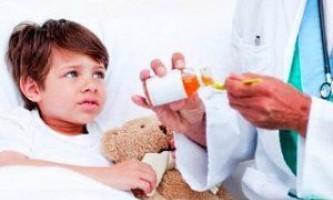 Лікування сухого кашлю у дитини