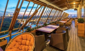 Кращі ресторани і бари москви з панорамним видом