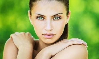 Макіяж для брюнеток з зеленими очима