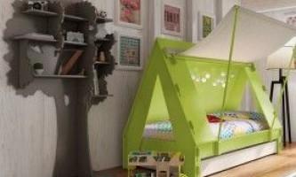 Меблі в дитячу кімнату для дитини практично з нічого