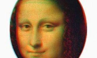 """""""Мона ліза"""" - це перше в історії 3d зображення"""