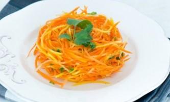 Морква по-корейськи - рецепт