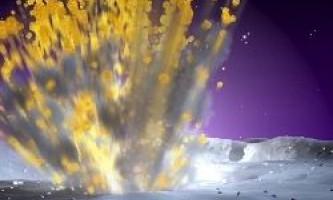 На місяці стався найбільший вибух через падіння метеорита