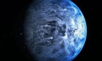 Знайдено ще одну блакитна планета, і там йде скляний дощ