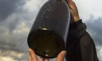 Знайдена найстаріша плавуча пляшка