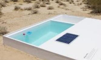 Знайди басейн з чистою водою, захований в пустелі