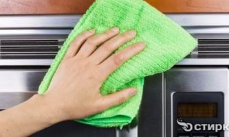 Народні та безпечні засоби проти жиру в мікрохвильовій печі