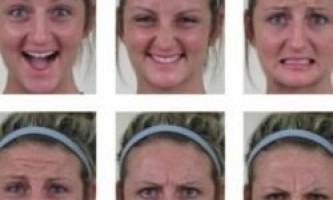 Наше особа може виражати 22 емоції