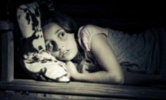 Чи не можете заснути? Можливо, ви боїтеся темряви