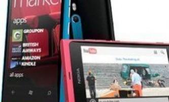 Nokia представила перші телефони на платформі windows phone