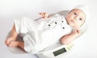 Норми ваги новонародженого