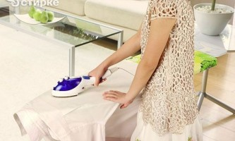 Кілька способів попрасувати одяг без праски