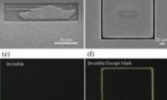 Новий матеріал робить предмети невидимими