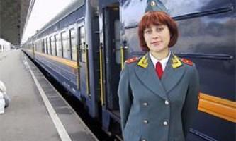 Про роботу провідника пасажирських вагонів