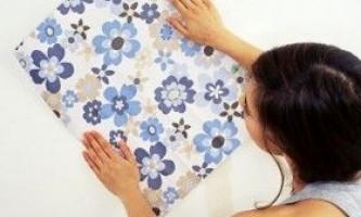 Шпалери з малюнком для стін: вибір і поклейка