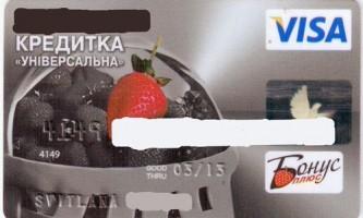 Оформлення та використання кредитної картки