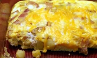 Омлет з сиром - рецепт з фото