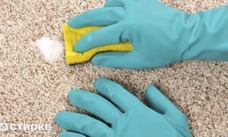 Основні способи чистки ковроліну від бруду, пилу і плям