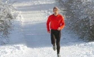 Особливості дихання під час бігу взимку