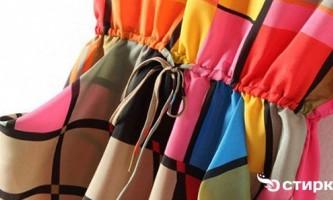 Особливості прання речей і одягу з поліестеру