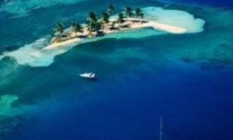 Острови карибського моря прагнуть в океан
