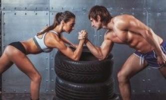 Відмінності між чоловіком і жінкою в бодібілдингу