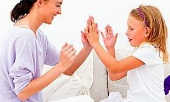 Пальчикові ігри для дітей