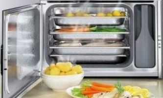 Парові духовки: види і моделі, робоча температура