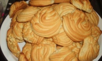 Печиво пісочне через м`ясорубку - рецепт