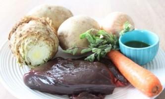 Печінкові оладки - рецепт з фото