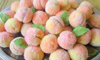 Персики печиво - рецепт з фото