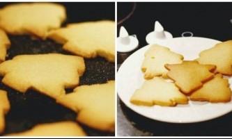 Пісочне печиво - рецепт для формочок
