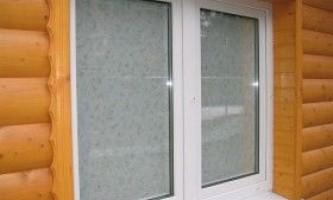 Пластикове вікно в баню: особливості установки