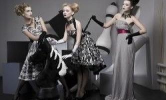 Плаття в стилі ампір