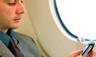 Чому використання мобільних телефонів в літаках небезпечне?