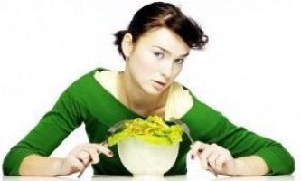 Чому пропадає апетит?