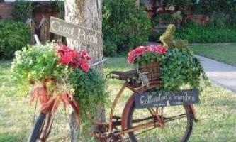 Падалка для дачі: вазони, оригінальні квітники