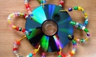 Вироби з дисків своїми руками