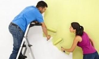 Фарбування стін з гіпсокартону: покрокова інструкція