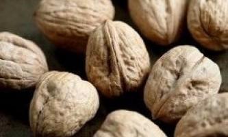Користь волоських горіхів
