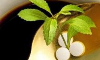 Користь і шкода цукрозамінників