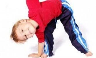 Користь зарядки для дітей і правила її виконання